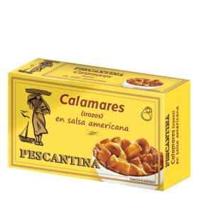 Calamares en salsa americana Pescantina 72 g.