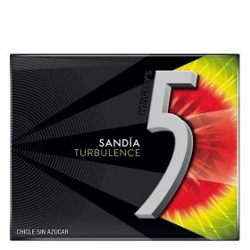 Chicle sabor sandía sandia Five 31 g.
