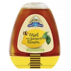 Miel con zumo de limón Granja San Francisco 350 g.