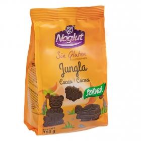 Galletas con cacao Jungla Santiveri sin gluten 100 g.