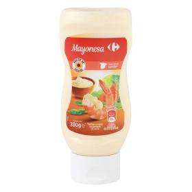 Mayonesa con aceite de girasol Carrefour envase 380 ml.