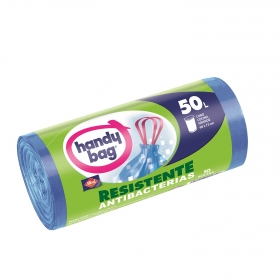 Bolsa Antibacterias Autocierre 50 Litros 10 ud