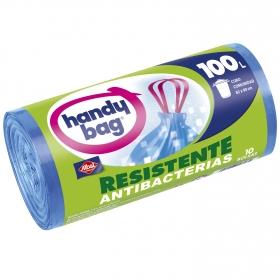 Bolsas de basura Resistente Antibacterias 100 Litros Azul