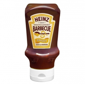 Salsa barbacoa dulce suave y ahumado envase 400 ml.