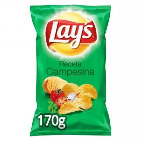 Patatas fritas sabor campesinas Lay's 170 g.