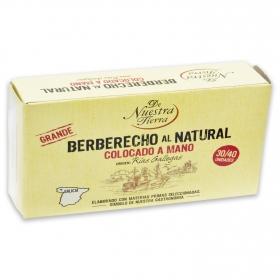 Berberecho al natural 30/40 De Nuestra Tierra 63 g.