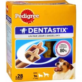 Comida para Perros Pedigree Dentastick. Pack Mensual de 28 barritas