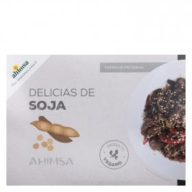 Delicias de Soja ecológicas Ahimsa 250 g.