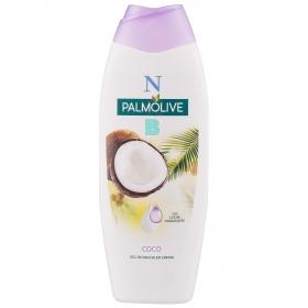 Gel de ducha en crema con Coco y leche hidratante