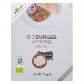 Hamburguesa vegetal tofu y algas ecológica Ahimsa 160 g.