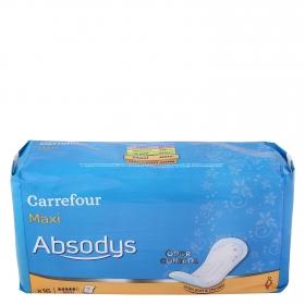 Compresas incontinencia maxi Carrefour 16 ud.