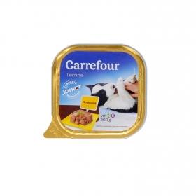 Alimento Húmedo para Perros Junior Pollo 300 gr, Carrefour