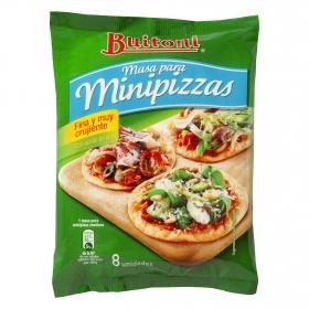 Masa mini pizza