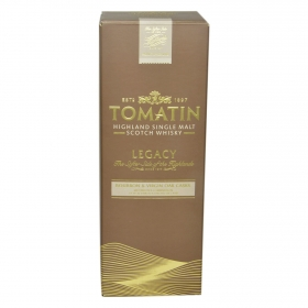 Whisky Tomatin escocés bourbon 70 cl.