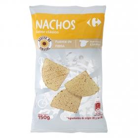 Nachos sabor clásico Carrefour 150 g.