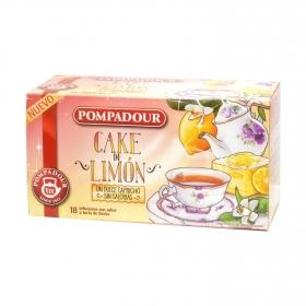 Infusión con sabor a tarta de limón
