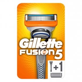 Pack de máquina de afeitar + 2 recambios Fusion 5 Gilette  1 ud.