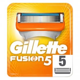 Cargador para afeitar Fusion 5 Gilette 5 ud.