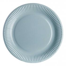 Set Platos Plástico CARREFOUR HOME  8 ud  23 cm - Agua Marina