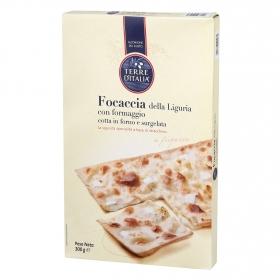 Pan tostado focaccia della Liguria con formaggio Terre d'Italia 300 g.