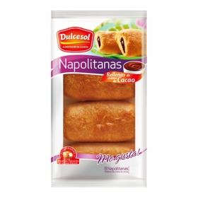 Napolitanas cacao  8 unidad