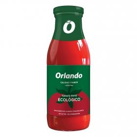 Tomate frito ecológico Orlando sin gluten tarro 500 g.