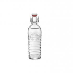 Botella de Vidrio Officina Transparente