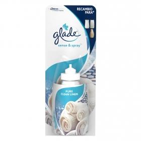 Ambientador automático con recambio Pure Clean Linen Glade 18 ml.