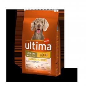Ultima Pienso para Perro Adultos Medium - Maxi Sabor Pollo 7,5kg.