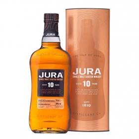Whisky Jura escocés 10 años 70 cl.