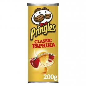 Aperitivo de patata sabor clásico paprika Pringles 200 g.