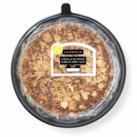 Tortilla de patatas rellena de jamón y queso Palacios 700 g
