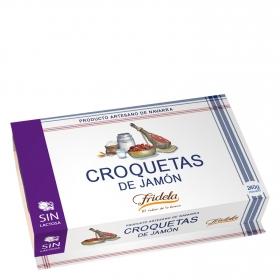 Croquetas de jamón Fridela sin lactosa 240 g.