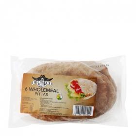 Pan de pita integral Michel's 400 g.