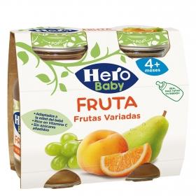 Zumo de frutas variadas