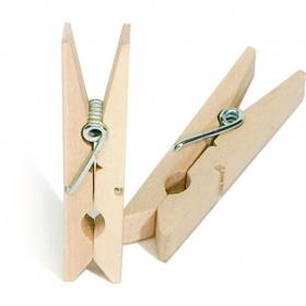 Set de 36 Pinzas de madera para la ropa MONDEX de madera 7cm x 16cm x 5cm
