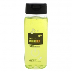 Gel de baño Enargy Men Carrefour 500 ml.