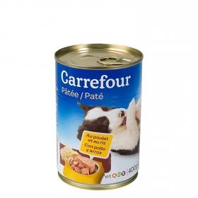 Lata Pate con Pollo y Arroz para Cachorros 400 gr