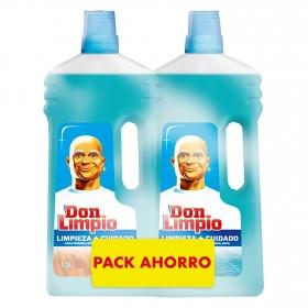 Limpiador PH neutro Don Limpio pack de 2 unidades de 1,5 l.