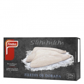 Filetes de dorada Summum Findus 200 g.