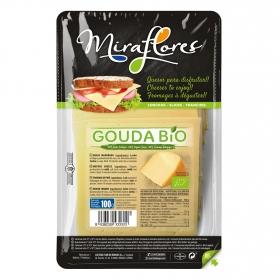 Queso gouda en lonchas ecológico Miraflores 100 g.