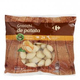Gnocchi de patata Carrefour 500 g.