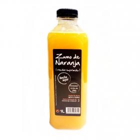 Zumo de naranja recién exprimido Carrefour 1 l.