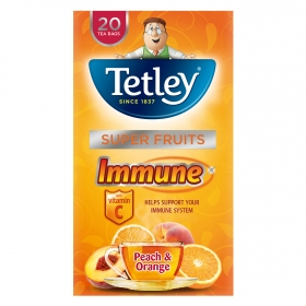 Té de melocotón y naranja