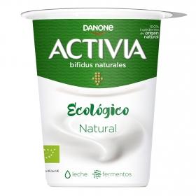 Yogur bifidus natural ecológico Danone Activia 460 g.