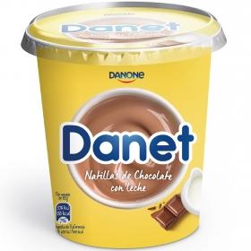 Natillas de chocolate con leche Danone Danet 400 g.