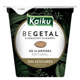 Preparado de almendra vegetal Kaiku sin lactosa 145 g.