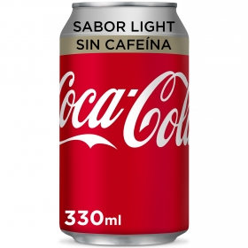 Refresco de cola light sin cafeína