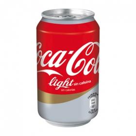 Refresco de cola light sin cafeína