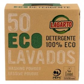 Detergente en polvo ecológico Lagarto 50 lavados